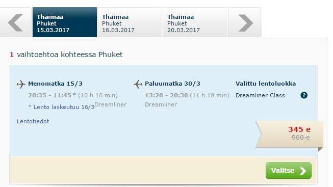 cheap flights to phuket from helsinki