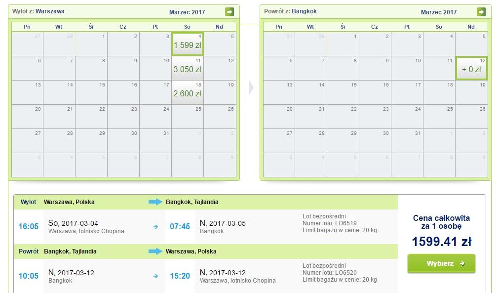 last minute flights to bangkok