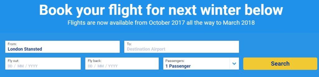 ryanair flights 2018
