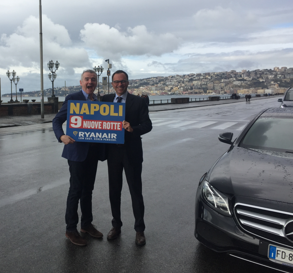 ryanair launches new routes from naples