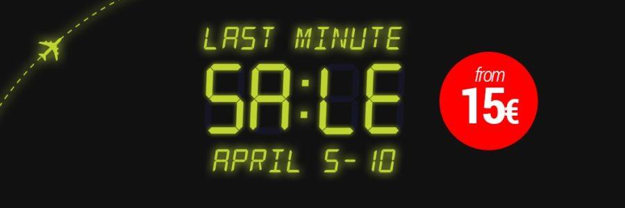 airbaltic last minute sale