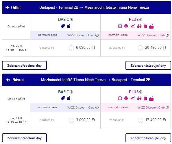 cheap flight tickets to albania