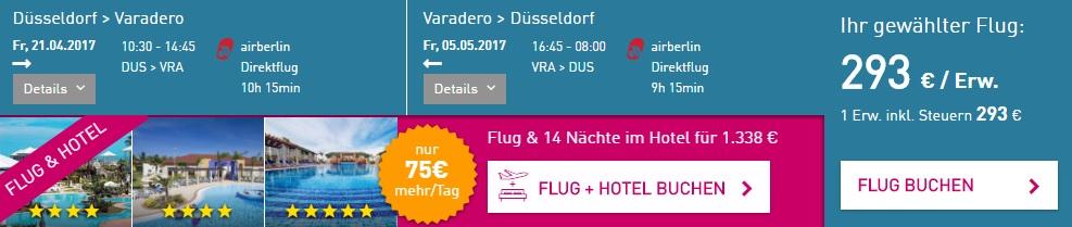 last minute flights dusseldorf cuba