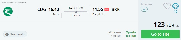 last minute flights to thailand from paris