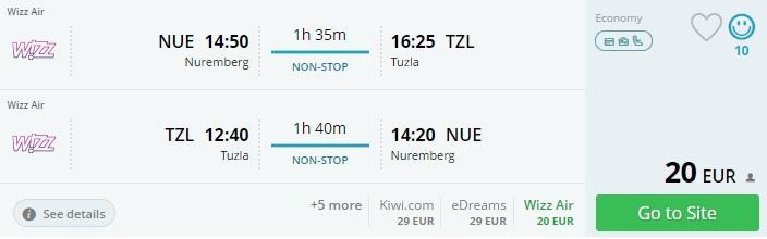flight deals from germany to Bosnia and Herzegovina