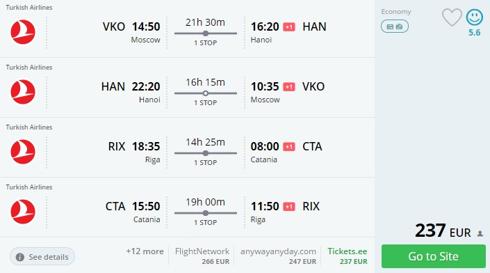 error fare from europe to united states asia