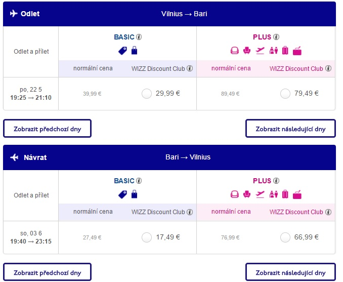 Cheap Flight Tickets From Vilnius To Bari Italy From 47