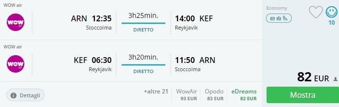 summer flights to reykjavik from scandinavia