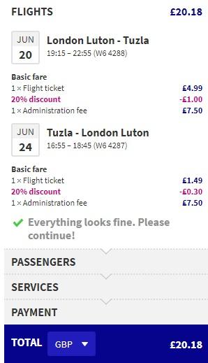 Cheap flights to Bosnia and Herzegovina from London