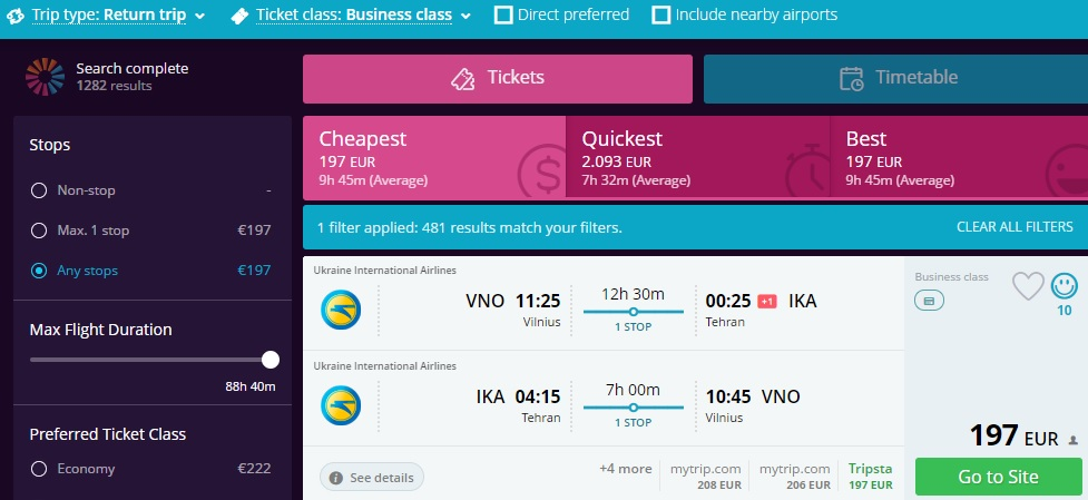 error fare flights to asia from europe