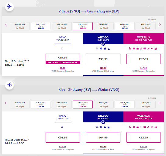 Direct Flights From Vilnius To Kiev From 24 Round Trip