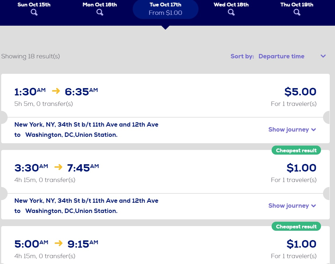 how to get 1 megabus tickets