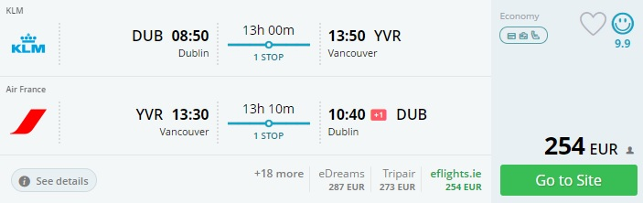 8fb92188839 Cheap flights from Dublin to CANADA - TravelFree