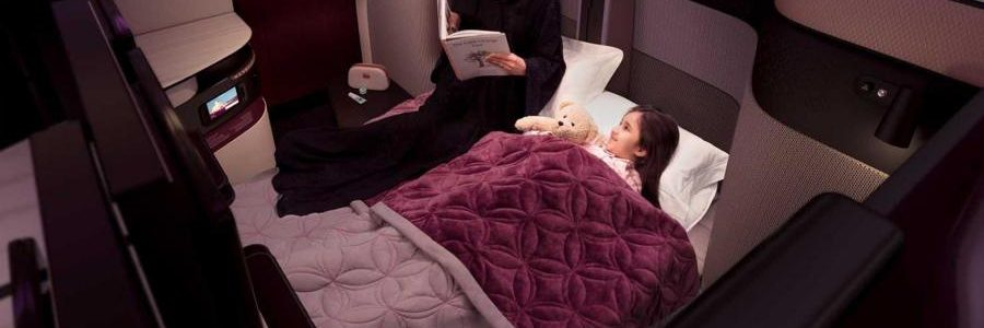 Qatar Airways launched the world's first double beds in business class!