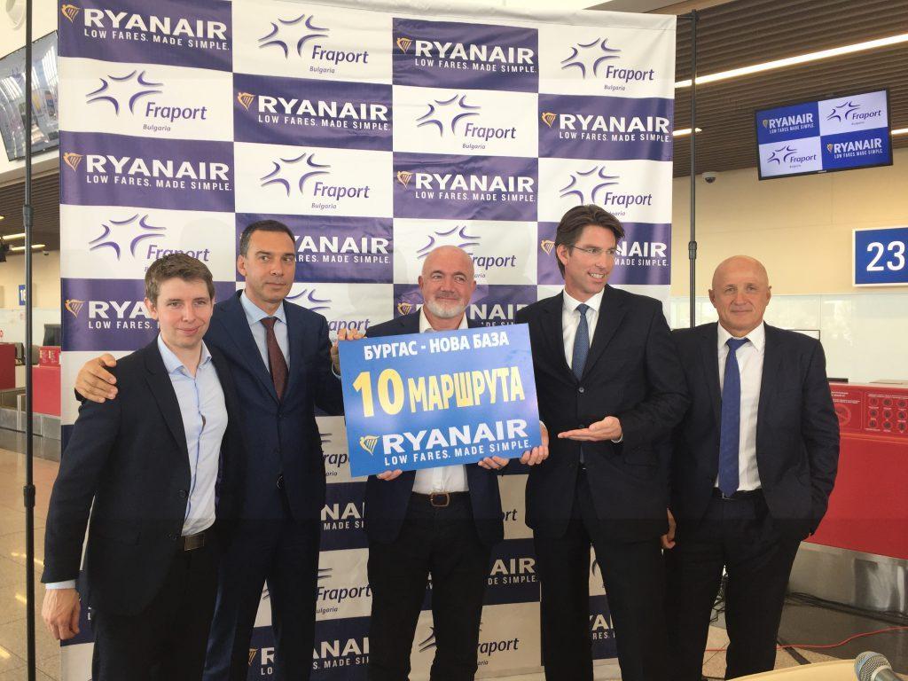 RYANAIR announces 15 NEW ROUTES BULGARIA