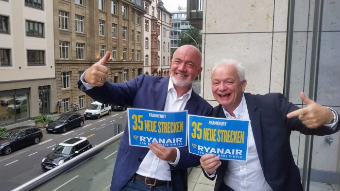 RYANAIR launches Frankfurt Summer 2018 schedule with 35 NEW ROUTES