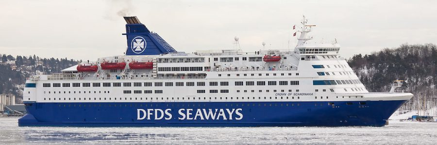 ferry dfds