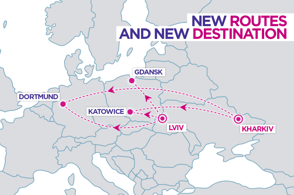 new wizzair routes from ukraine