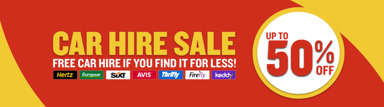 Ryanair Car Hire Sale Up To 50 Off Or Free Car Hire If You Find