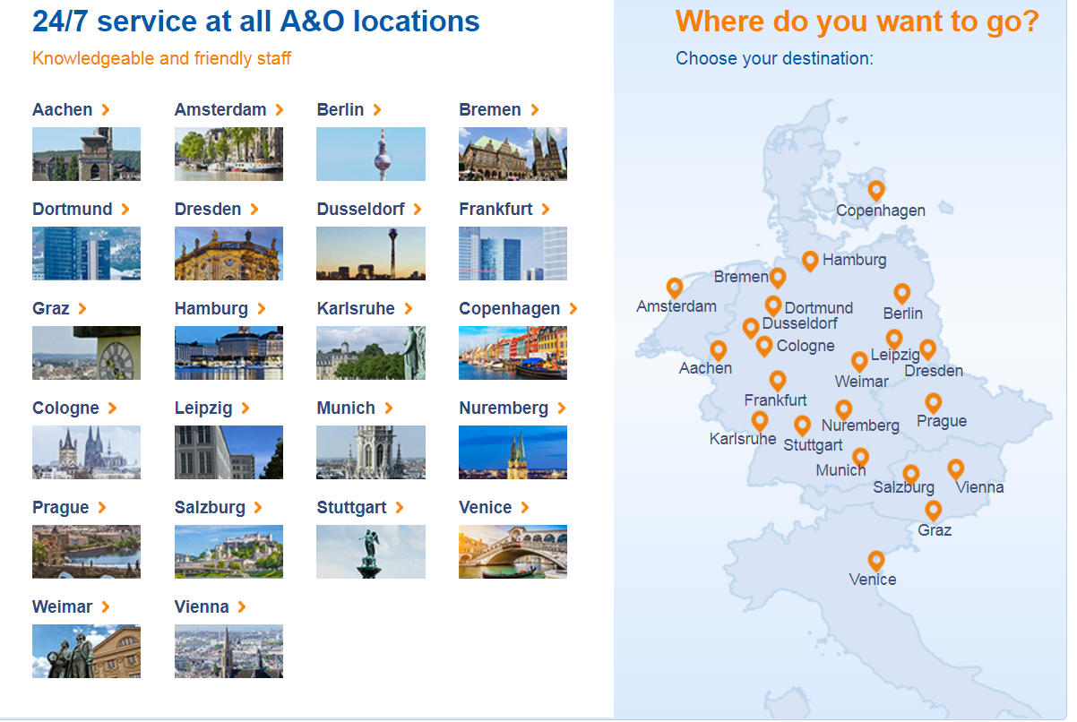 A&O Hotel and Hostels SALE