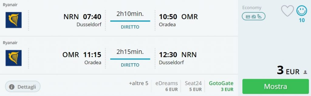 flights from germany to european destinations