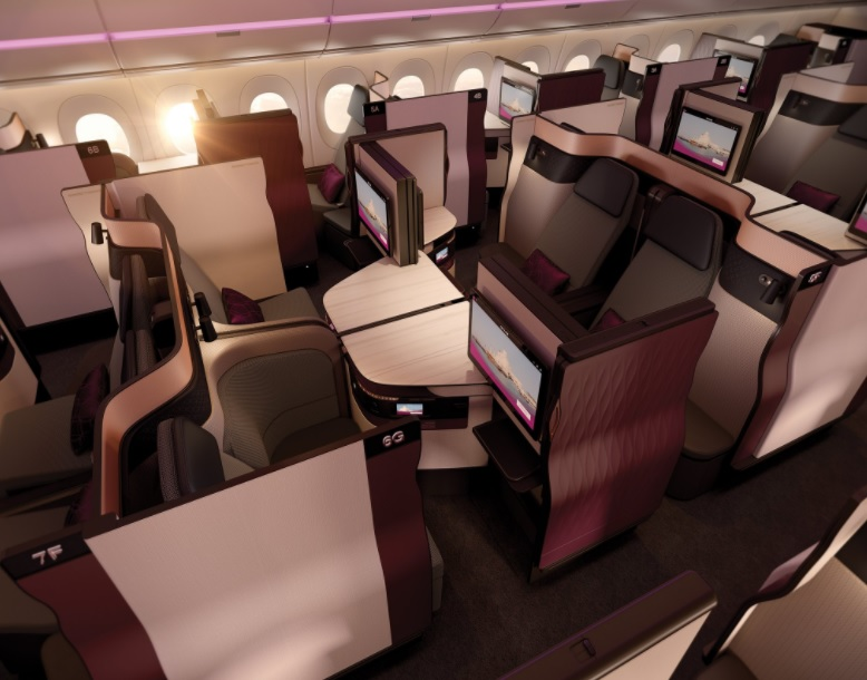 qatar airways business class