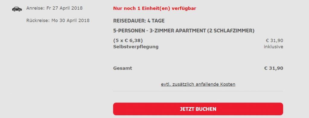 error fare apartment mallorca