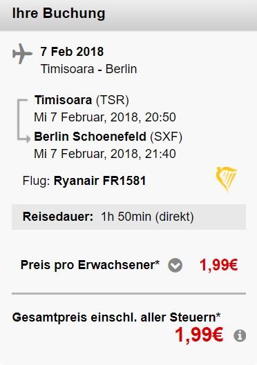 flights berlin timisoara romania