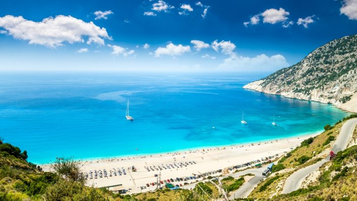 how to get to kefalonia from london
