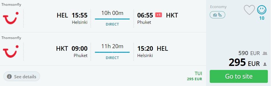 last minute flights helsinki phuket