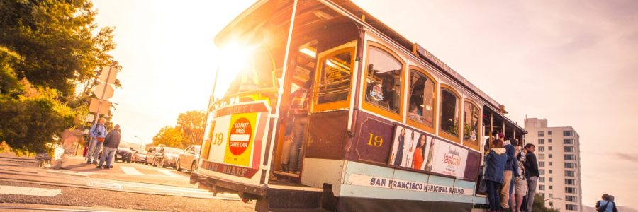 san francisco-shining-through-the-iconic-san-francisco-cable-car-picjumbo-com