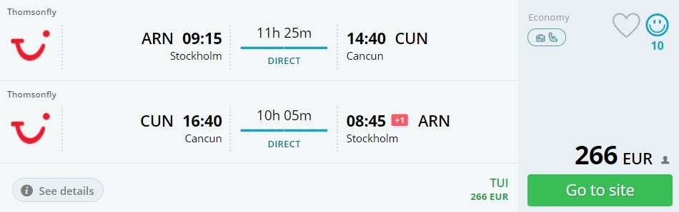 stockholm cancun