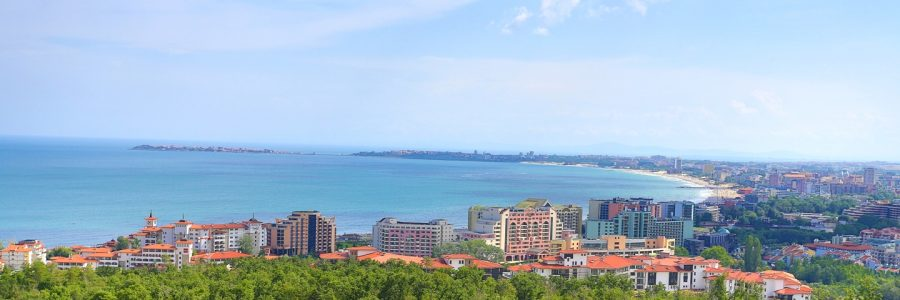 View of the city of Burgas