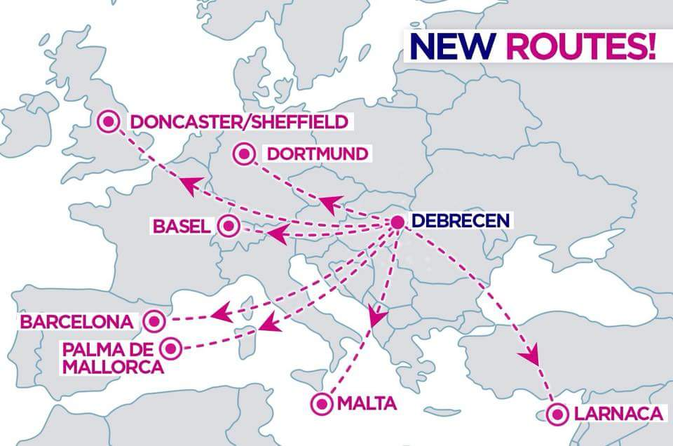 7 New Wizzair Routes From Debrecen Hungary Travelfree