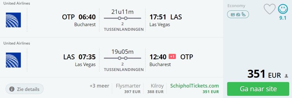 cheap flights bucharest romania las vegas