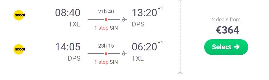 cheap flights berlin bali indonesia