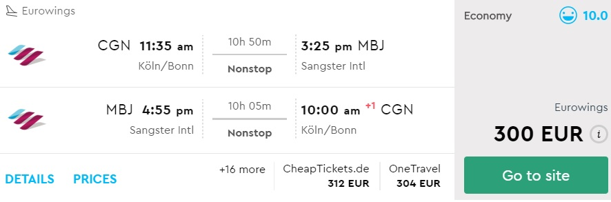 cheap flights cologne germany jamaica