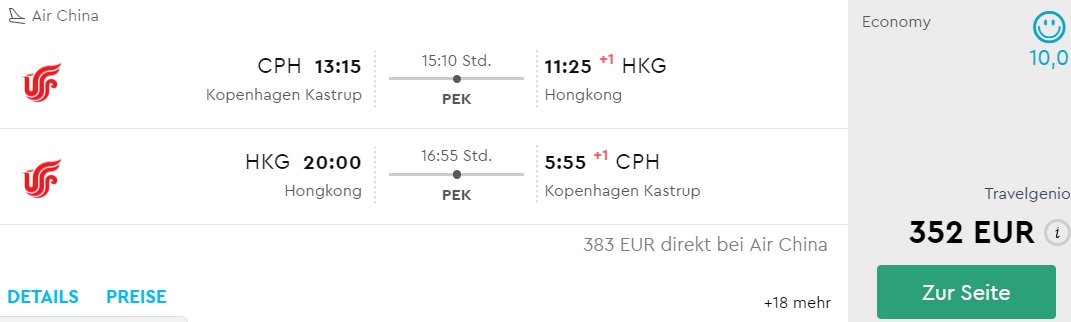 cheap flights copenhagen hong kong