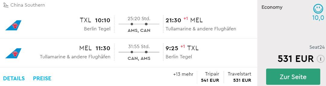 cheap flights germany australian cities