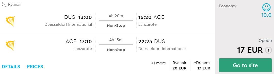 cheap flights germany lanzarote