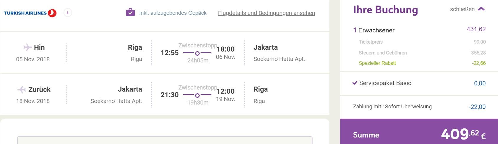 turkish airlines cheap flights riga jakarta indonesia