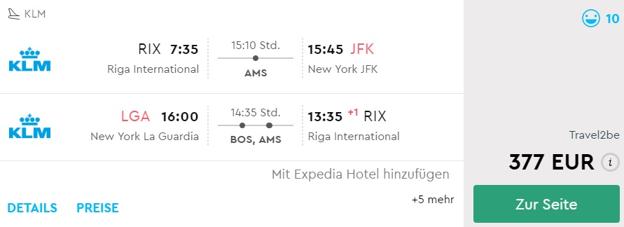 Xmas New Year Flights To New York From Riga Travelfree