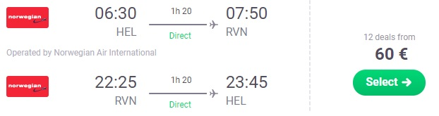 Cheap flights from Helsinki to LAPLAND