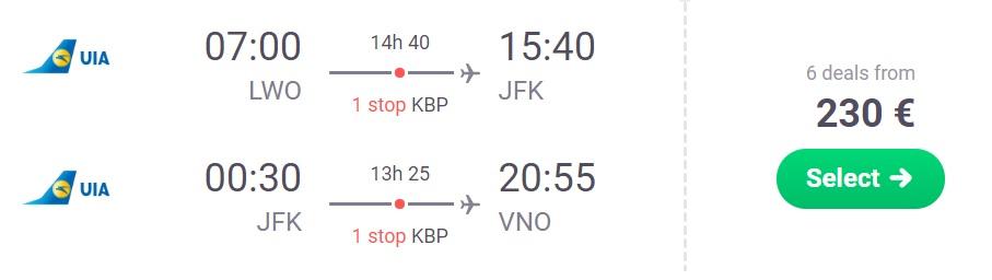cheap flights to new york