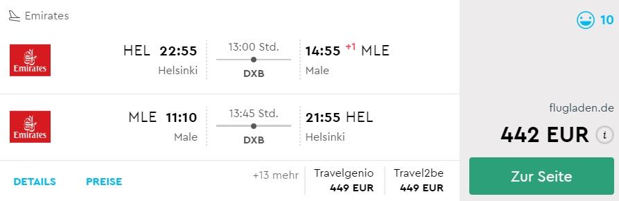 holidays in maldives flights from helsinki finland