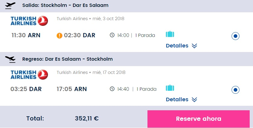 Cheap Flights From Stockholm To Tanzania Dar Es Salaam