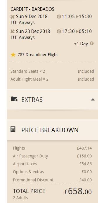 TUI UK discount code OFF flights