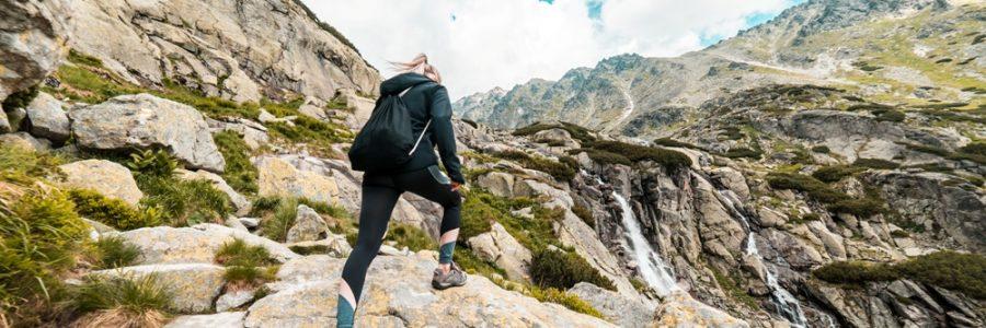 Tatry-woman-hiking-to-the-waterfall-mountain-picjumbo-com