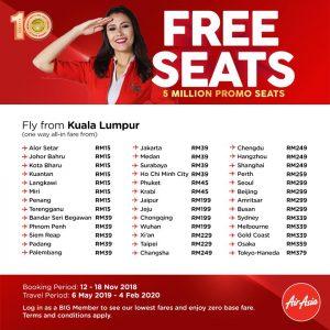 airasia promotion 2018