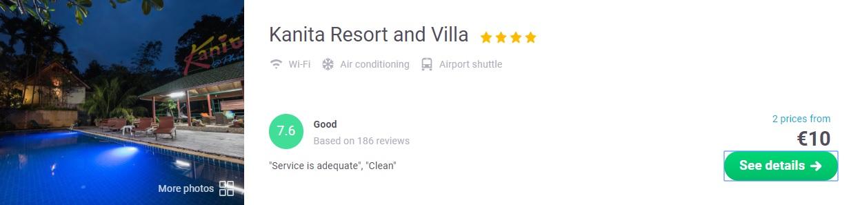 cheap Hotel in Phuket Thailand